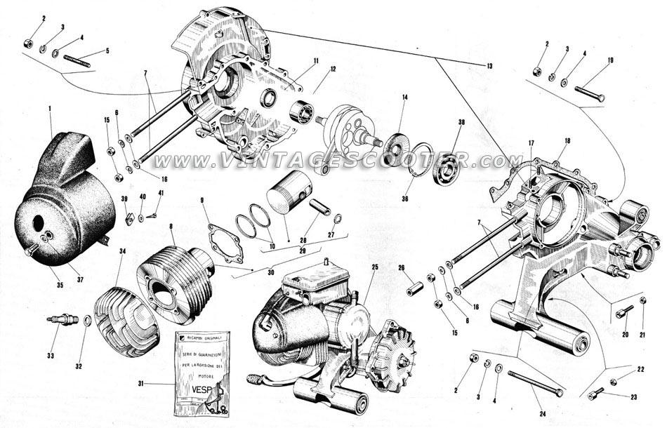 pieces detachees pour vespa 125 px