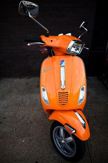 vespa orange